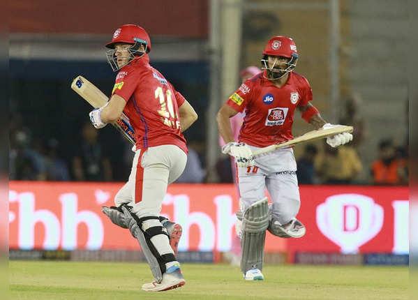 राहुल और मिलर ने जोड़े 85 रन
