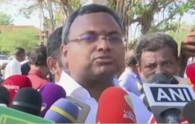 लोकसभा चुनाव 2019: वोट डालने के बाद कार्ति चिदम्बरम का दावा, तमिलनाडु में यूपीए को मिलेगी भारी जीत