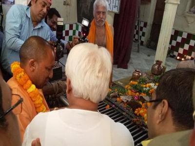 संकटमोचन मंदिर में योगी आदित्यनाथ