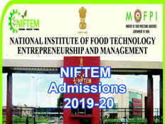 national institute of food technology entrepreneurship and management has released notification for admission to the b tech m tech and ph d programmes for the academic year 2019 20