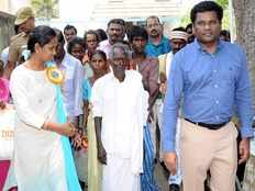 kanniyappan cast his vote for first time in his life