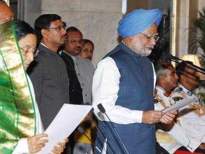 2009 चुनाव के बाद मनमोहन सिंह दोबारा प्रधानमंत्री बने