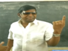 actor vadivelu casts vote at chennai saligaramam