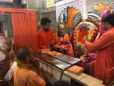 अलीगंज के हनुमान मंदिर में योगी आदित्यनाथ
