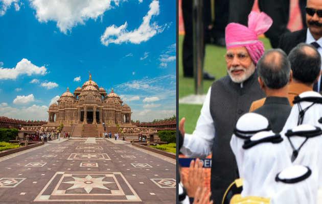 इस्लामिक देश में पहले हिंदू मंदिर का आज उद्घाटन करेंगे पीएम मोदी
