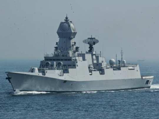 आयएनएस इम्फाळ युद्धनौकेचे जलावतरण आज