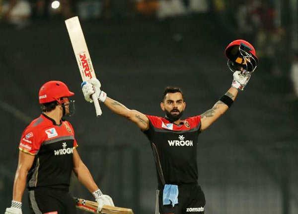 विराट ने जड़ा IPL करियर का 5वां शतक