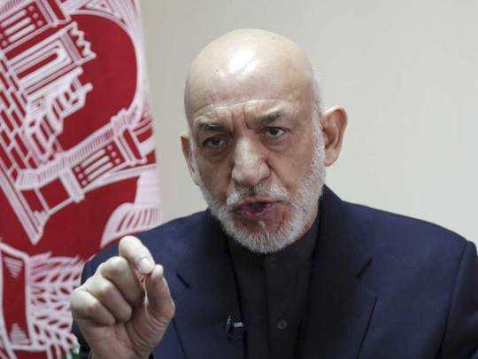 अफगानिस्तान के पूर्व राष्ट्रपति हामिद करजई