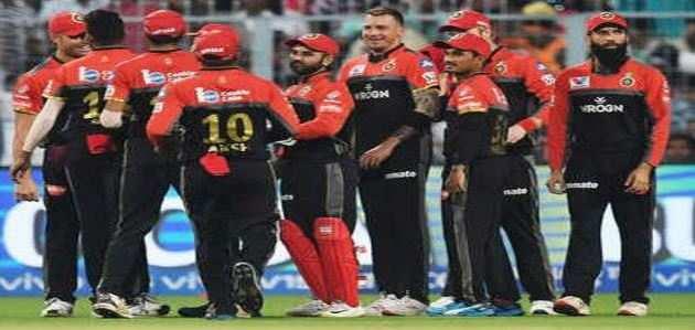 आईपीएल: कोलकाता को बैंगलोर ने 10 रन से हराया