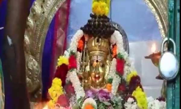 in theni district there is a special pooja for chitra pournami in lord shivan temple