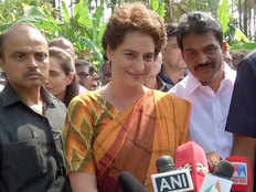 priyanka gandhi says if rahul gandhi asks i am ready to fight from varanasi