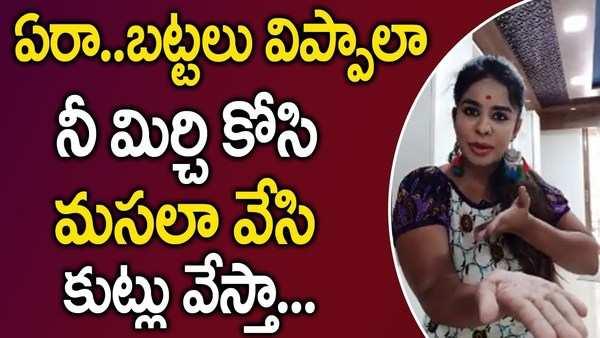 controversial actress sri reddy vulgar talk continues