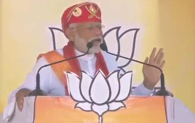 चित्तौड़गढ़ में PM नरेंद्र मोदी ने बताई कांग्रेस की 3 सच्चाई