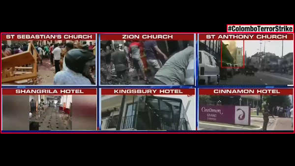 colombo terror strike 1 indian woman among 207 killed 7 arrested