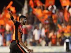 srh vs kkr man of the match of khaleel ahmed from hyderabad