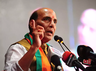 rajnath singh alleged indias stand against terrorism has sometimes weakened due to congress