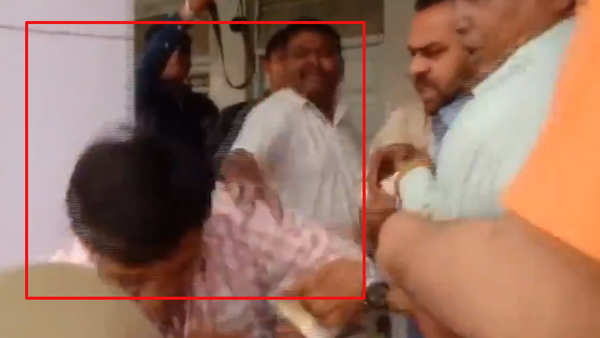 lok sabha polls 2019 polling officer thrashed by bjp workers in moradabad