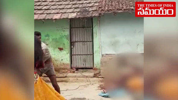 watch man kills brother in law injures sister over land dispute in mahabubnagar