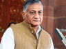 vk singh respond on the congress allegation of asking for vote on the name of army