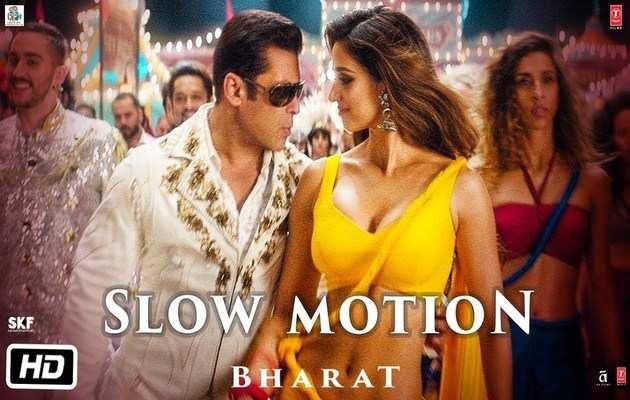 देखिए, 'भारत' फिल्म का 'स्लो मोशन' गाना
