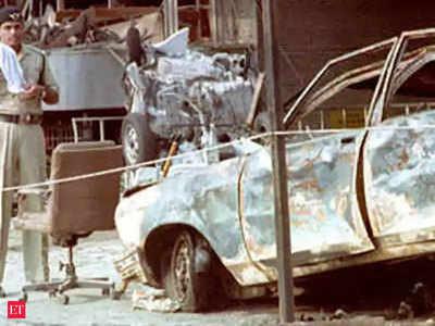 1993 मुंबई ब्लास्ट का एक दृश्य (फाइल फोटो)