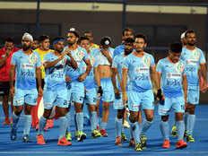 team india hockey ,India Russia ,hockey qualifiers programmed,हॉकी क्वॉलिफायर,कार्यक्रम,भारत एफआईएच,सीरीज फाइनल्स,छह जून,रूस,भिड़ेग