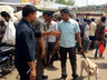 alert in mathura due to threat to blow up railway station