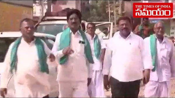 nizamabad farmers started to contest against pm modi in varanasi