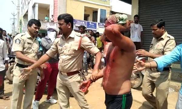 watch srikakulam youths attacked with beer bottles after clash over cigarette smoke
