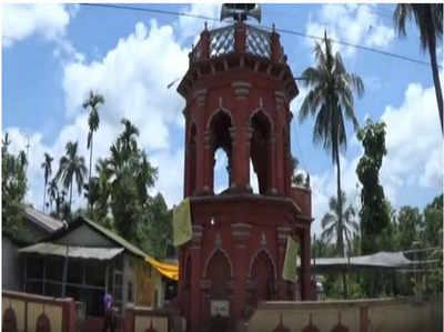 हिंदुओं ने मदद की और बचा ली सदियों पुरानी मस्जिद की मीनार