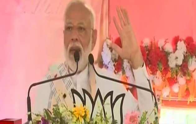 वाराणसी: PM नरेंद्र मोदी ने बूथ कार्यकर्ताओं को किया संबोधित