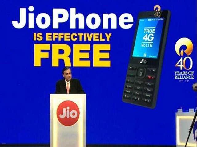 सैमसंग को पछाड़ फीचर फोन मार्केट में JioPhone बना अव्वल ब्रैंड