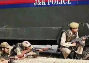millitants attacked chanpora police post on srinagar city