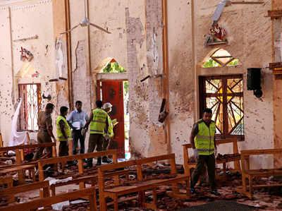 चर्च में धमाके के बाद का मंजर (फाइल)