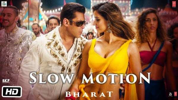 slow motion song from bharat movie