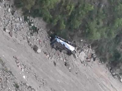 हिमाचल प्रदेश में बस हादसे में कई लोगों की मौत