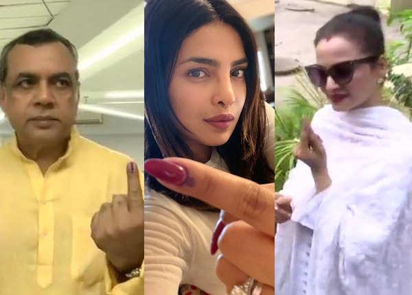 लोकसभा चुनाव 2019 चौथा चरण: वोट डालने उतरे 'सितारे' जमीन पर