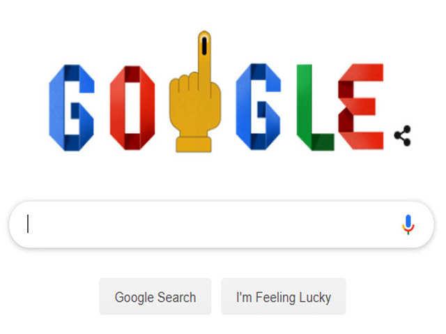 चौथे चरण का मतदान आज, गूगल ने डूडल के जरिए मतदाताओं को किया जागरूक