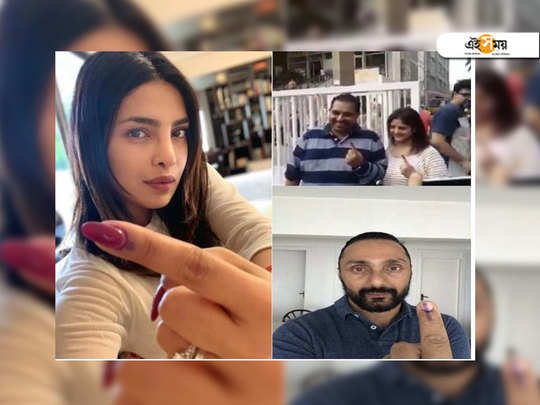 Bollywood celebs vote in the fourth phase
