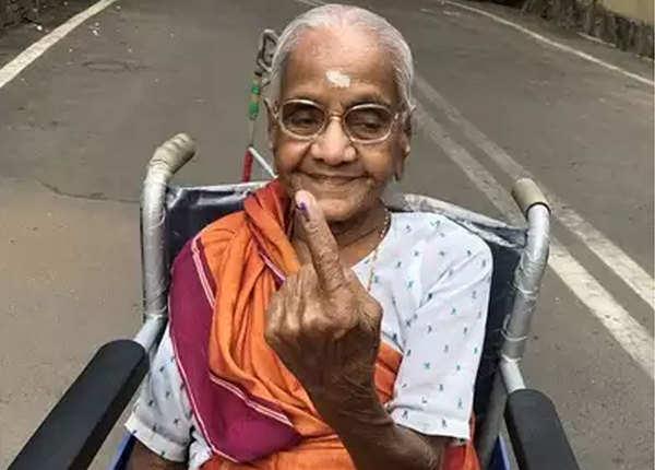उम्र 103 साल, स्वतंत्रता से लेकर आज तक नहीं भूलतीं वोट डालना