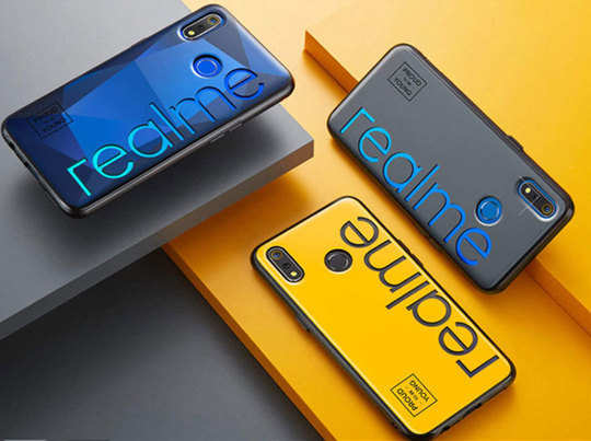 2019 के अंत तक भारत में 15 मिलियन स्मार्टफोन्स बेचेगा रियलमी