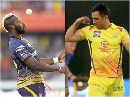 MS Dhoni - Andre Russell