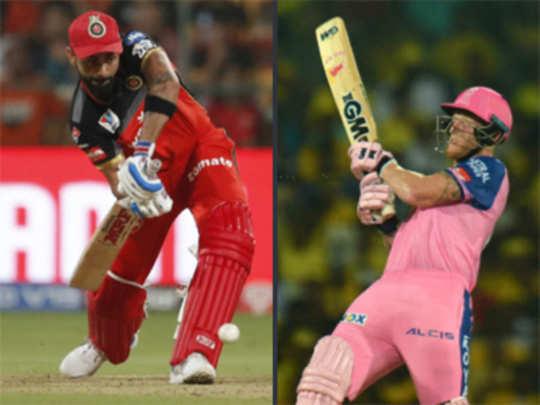 IPL: पावसाचा खेळ; राजस्थान-बेंगळुरू सामना अनिर्णित