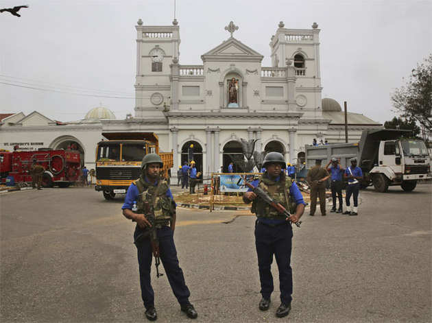 श्रीलंका में हुए थे 8 सीरियल धमाके
