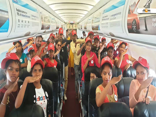 fairytale tour of the dream flight 18 students of the jangalmahal