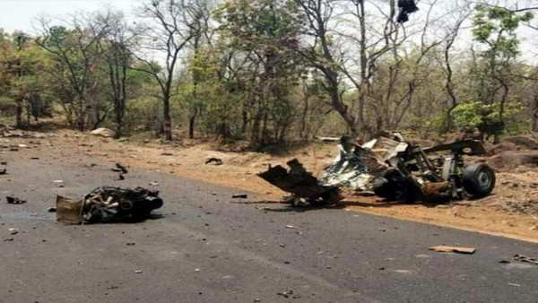 15 security personnel killed in ied blast in another attack by maoists in gadchiroli