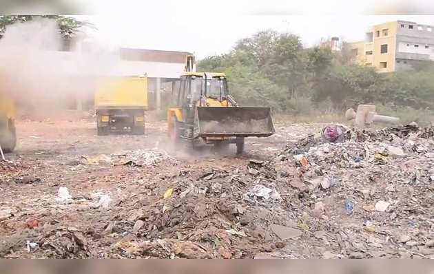 आंध्र प्रदेश के विजयवाड़ा में कृष्णा नदी को साफ़ करने की कवायद शुरू