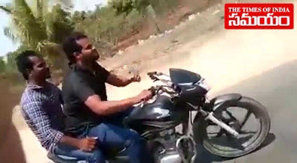 hazipur killer on bike ride with friend video goes viral