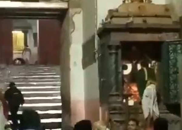 जगन्नाथ मंदिर में मांगी गई दुआ