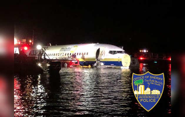 बोइंग 737 (Photo- Jax Sheriff's Office Twitter)